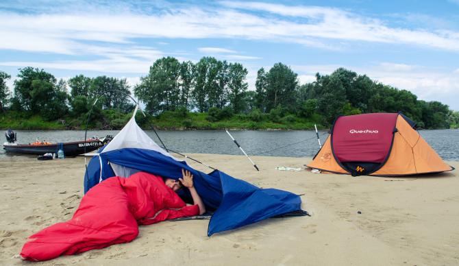 namioty nad wisłą