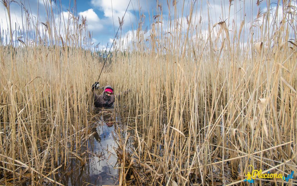 Podwyższony stan wody na Inie spowodował, że w niektóre miejsca była ciężko się dostać