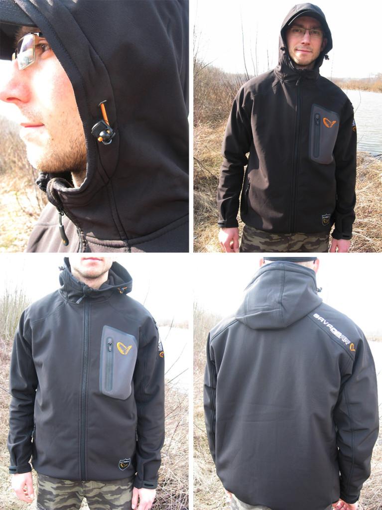 SavageGear Trend Soft Shell Jacket prezentuje się okazale