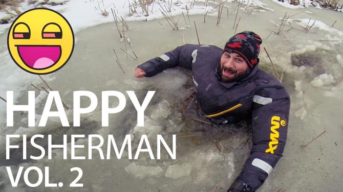 Drugi odcinek filmu wędkarskiego Happy Fisherman